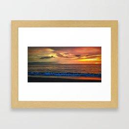 Sunset 1577 Framed Art Print