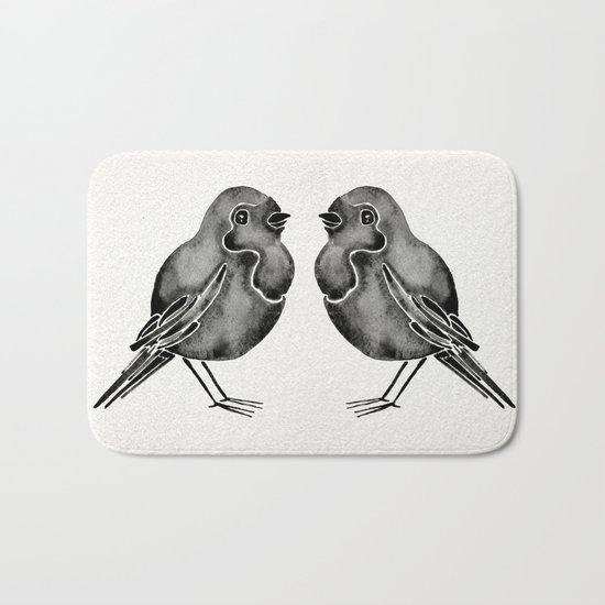 Little Blackbirds Bath Mat