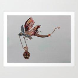 Jewel Thief Art Print