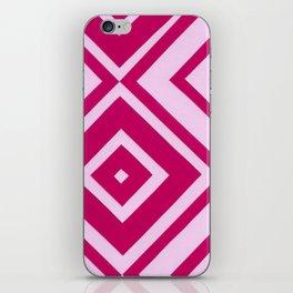 Pink Diamonds iPhone Skin