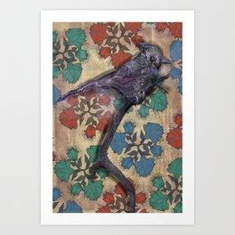 Weird bird Art Print