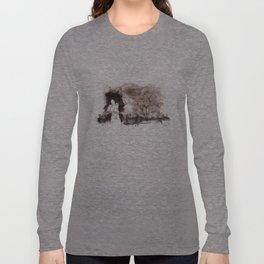 Derrotar al enemigo (color version) Long Sleeve T-shirt