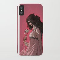 valentine iPhone & iPod Cases featuring Valentine by Lisa