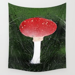Toadstool Wall Tapestry