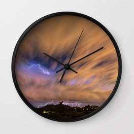 Distant Veiled Echos of the Night Wall Clock