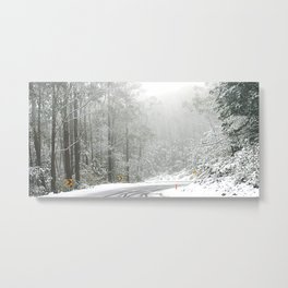 Down the Summit Metal Print