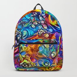 Peacock Dreams Backpack