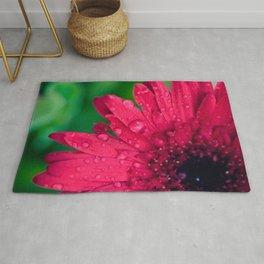Raindrop Daisy Rug