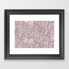 Flowers XIV Framed Art Print