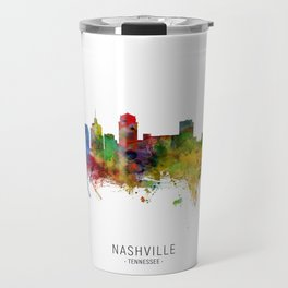 Nashville Tennessee Skyline Travel Mug