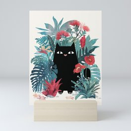 Popoki Mini Art Print