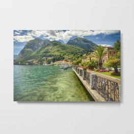 Menaggio on Lake Como Metal Print