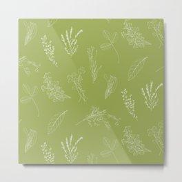 Kitchen herbs 005 Metal Print