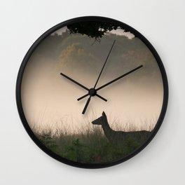 Richmond Park - 96, September 2015 Wall Clock
