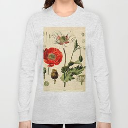 Poppy picture from 1900 Long Sleeve T-shirt