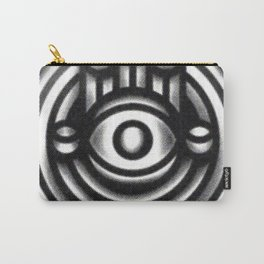 Halftone Hamsa Carry-All Pouch