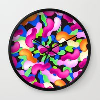 the thing Wall Clocks featuring Thing by Danny Ivan
