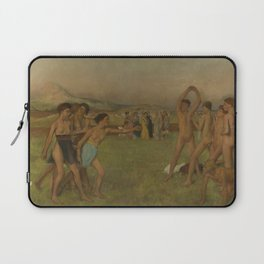 Young Spartans Exercising Laptop Sleeve