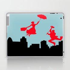 Blue Mary Poppins Laptop & iPad Skin