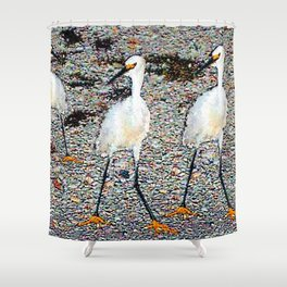 Playing with Nature Shower Curtain