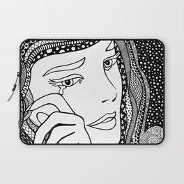 Roy Lichtenstein - Crying girl Laptop Sleeve