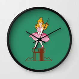 Plumbers prefer Blondes Wall Clock