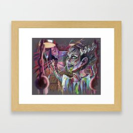 Bride of the Exorcist Framed Art Print