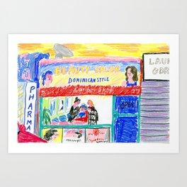 Sunnyside Art Print