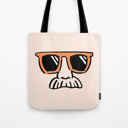 Too Cool (red orange) Tote Bag
