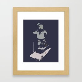 Run Run ECTO-1 Framed Art Print