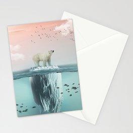 Polar Bear Iceberg Stationery Cards