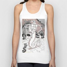 Muckster-cleaning droid Unisex Tank Top