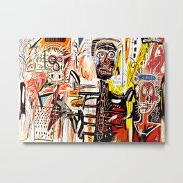 Jean-Michel Basquiat - Philistines 1982 Metal Print