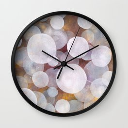 'No clear view 18' Wall Clock