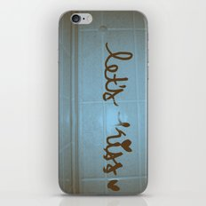 let's kiss  iPhone & iPod Skin