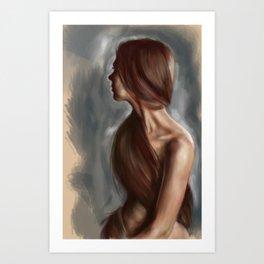 Aimee digital Art Print