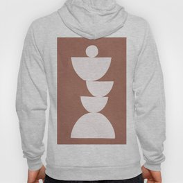 Abstract Balancing Shapes I Hoody