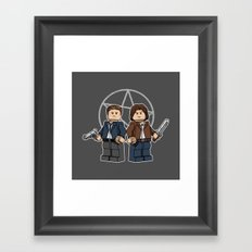 The Brickchesters Framed Art Print