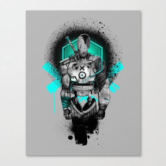 Elektrik Sun Canvas Print