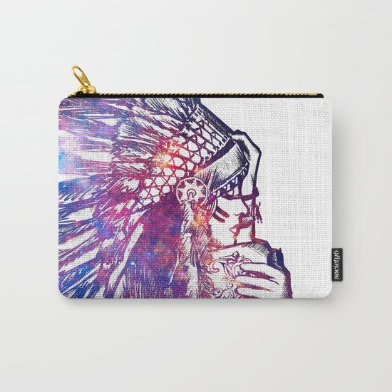 Space Indian Carry-All Pouch