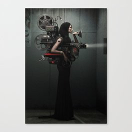 Madame Cinematic Canvas Print