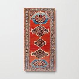 Bijar Kurdistan Northwest Persian Carpet Print Metal Print