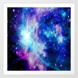 galaxy Nebula Star Art Print