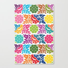 Chiapas Embroidery Canvas Print