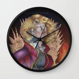 A hearts a heavy burden Wall Clock