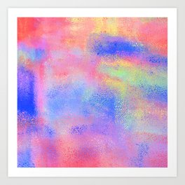 Where There's Life, There's Hope: Abstract Design Art Print