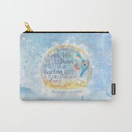 Like a Snow Globe Carry-All Pouch