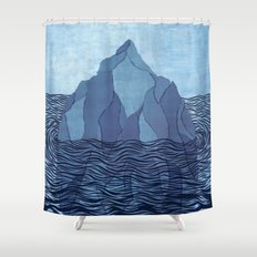 Iceberg Shower Curtain