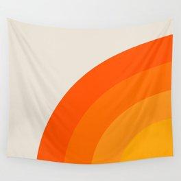 Sunrise Rainbow - Left Side Wall Tapestry
