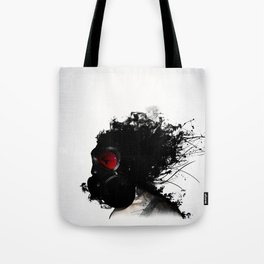 Ghost Warrior Tote Bag